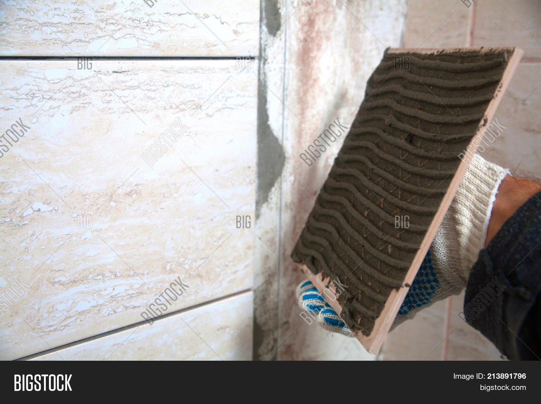 Laying Tiles Industrial Image & Photo | Bigstock