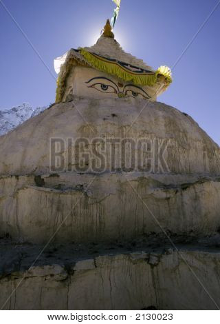 Stupa At Dingboche