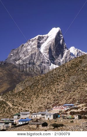Mt. Taboche And Dingboche