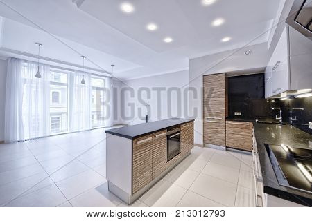 kitchen,dining room , stove,refrigerator, oven ,dishes, chairs, bar , cook, food ,vacation home, flat , new ,apartment,real estate,house,Studio, mansion,cottage,property, luxury, wealth, door, window,floor,wood, brick,marble,tile, stone, architecture,inte