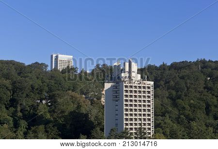 Sochi, Hosta District, Krasnodar region, Russia - July 14, 2016: Sochi Health Complex
