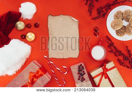 Blank Christmas Papyrus