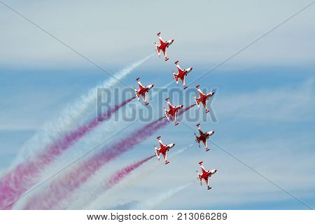 Turkish Stars Air Show Team