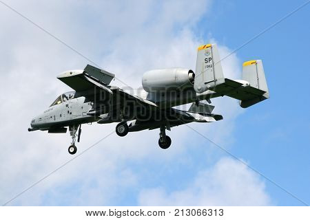 Us Air Force A-10 Thunderbolt Ii Fighter Jet