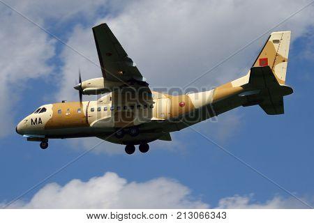 Moroccan Air Force Casa Cn.235 Cargo Plane