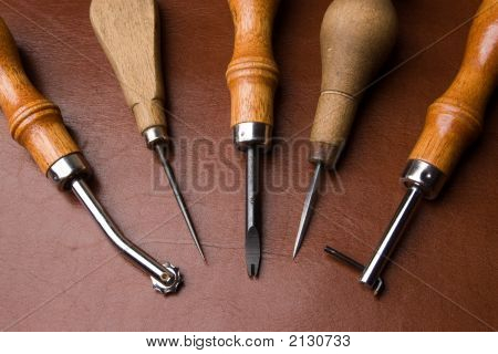 Tools To Work Leather