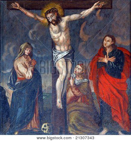 Crucifixion, Jesus on the cross