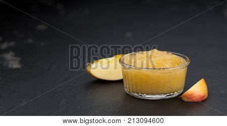 Homemade Applesauce (selective Focus)
