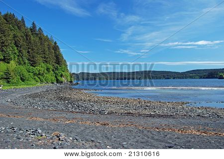 Quiet Cove In Alaska