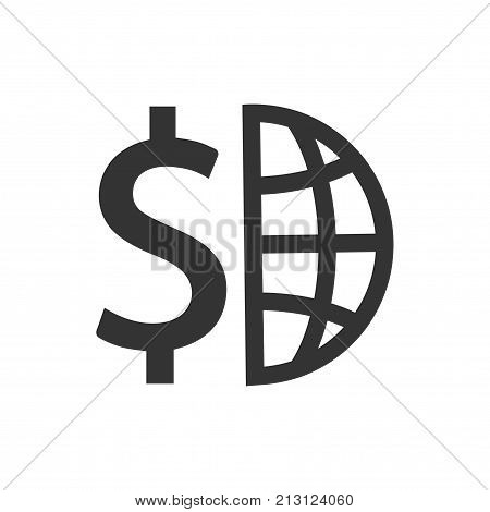 Smart, Beautiful, Meticulously Designed Global Finance Icon