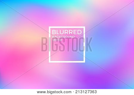 Abstract blurred background. Vivid color. (EPS 10)