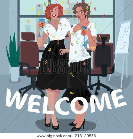 Office Girls Are Welcomed On The Job