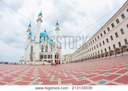 Big And Beautiful White Mosque