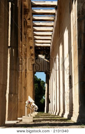 Thission, Or Temple Of Hephaestus In Athens