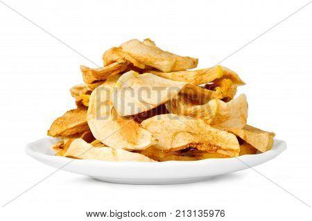 Sliced Dry Apples