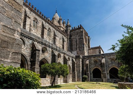 The Se Cathedral Of Evora, Portugal