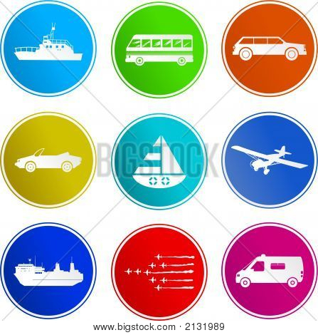 Transport Sign Icons