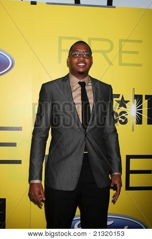 LOS ANGELES - JUN 25:  Carmelo Anthony arriving at the 5th Annual Pre-BET Dinner at Book Bindery on June 25, 2004 in Beverly Hills, CA