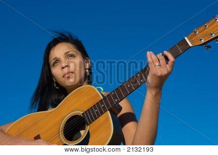 Ethnic Guitarist