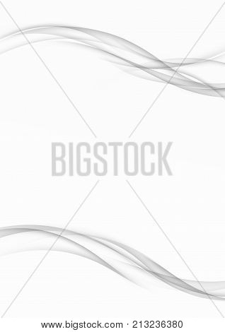 grey wave smooth vector photo free trial bigstock