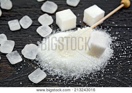 Sugar White Crystal On Board