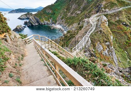 Stairs To The Cape Known As