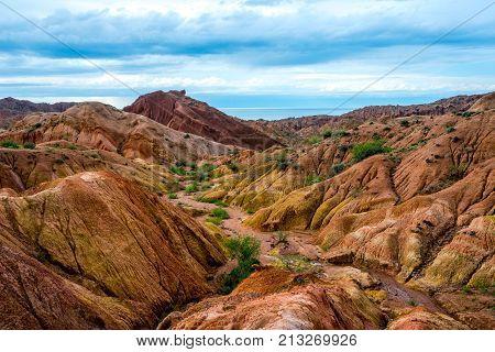 Skazka Aka Fairy Tale Canyon, Kyrgyzstan