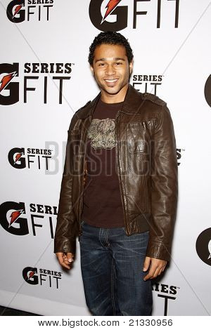 LOS ANGELES - APR 12:  Corbin Bleu at the 'Gatorade G Series Fit Launch Event' at the SLS Hotel in Los Angeles, California on April 12, 2011.