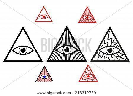 Divine eye , All Seeing Eye of God , Eye of Providence