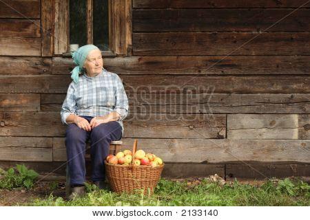 Elderly Countrywoman