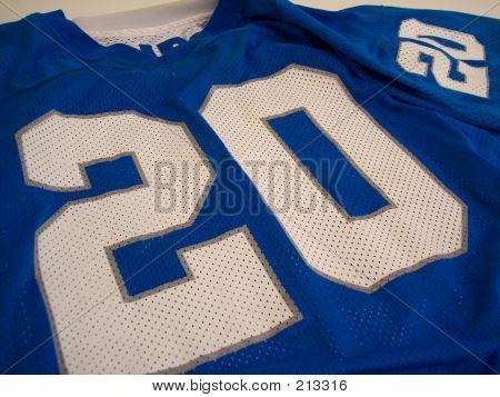 Blue Football Jersey