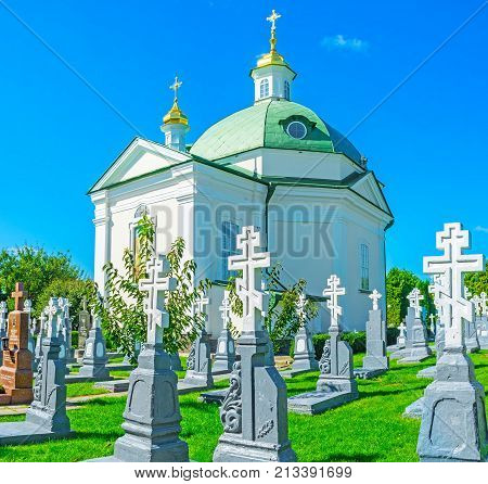 Church In The Cemetery