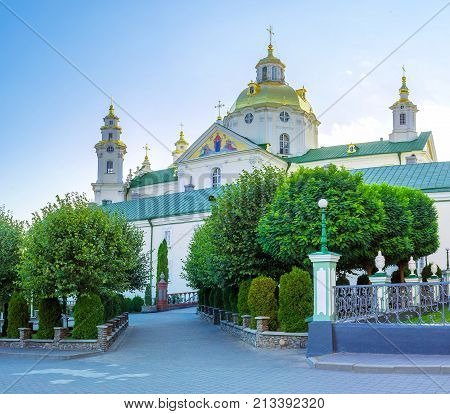 The Main Landmark Of Pochaev Lavra