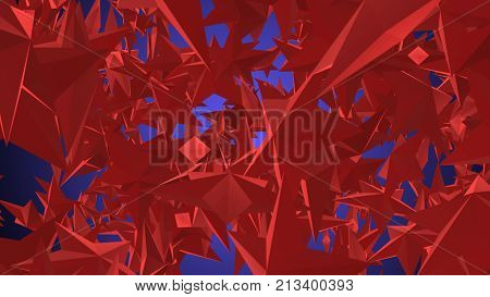 Holographic Star Trancelike Illustration