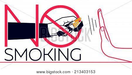 Banner  No Smoking