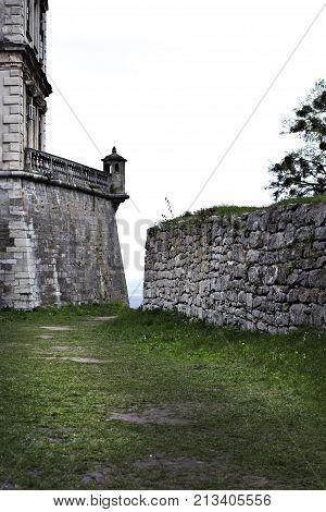 Podgoretsky Castle. Elements Of An Ancient Castle. Old Castle.