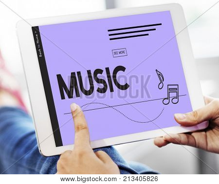 Listen Music Entertain Melody Harmony
