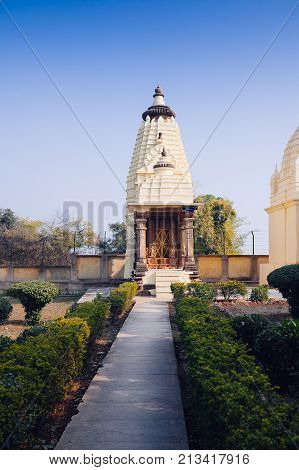Jain Temples Of Khajuraho.  Eastern Group Of Temples, Madhya Pradesh, India.