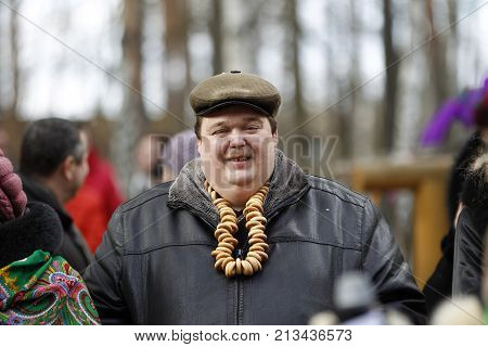Belarus city of Gomel. The celebration of the national Russian holiday