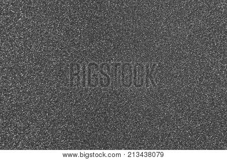 Gray sparkling carborundum pattern or texture background