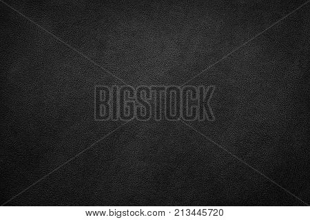 Black leather texture background, Leather textured background.