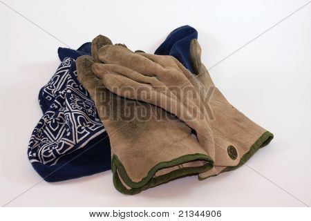 Work gloves and bandana 2