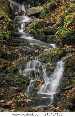 Mingo Falls Waterfall