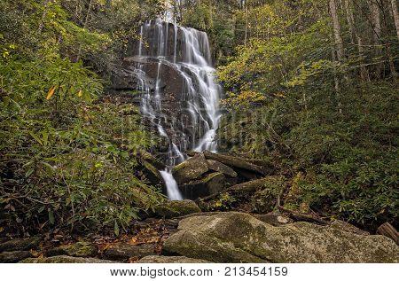 Eastatoe Falls Waterfall