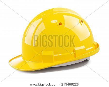 Yellow Construction Helmet