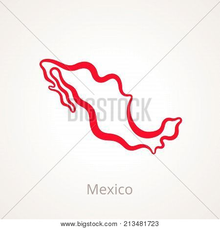 Mexico - Outline Map
