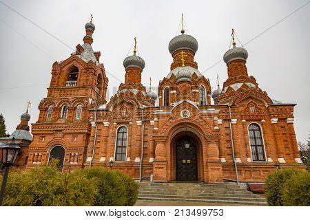 Temple Of The Cross Exaltation, Darna, Russia