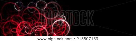 Powerful circle panorama background design illustration with space for your text