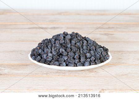 Dried Black Aronia Berries