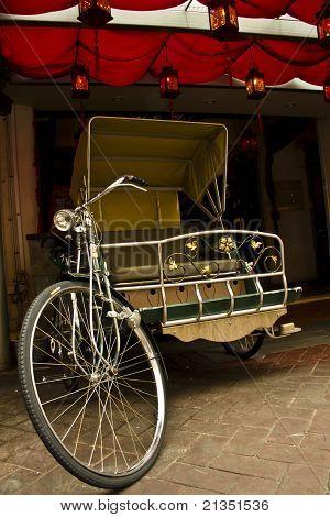 Trishaw Or Rickshaw